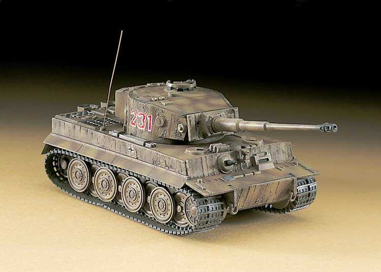 MT 36 Pz TIGER  I LATE 1/72