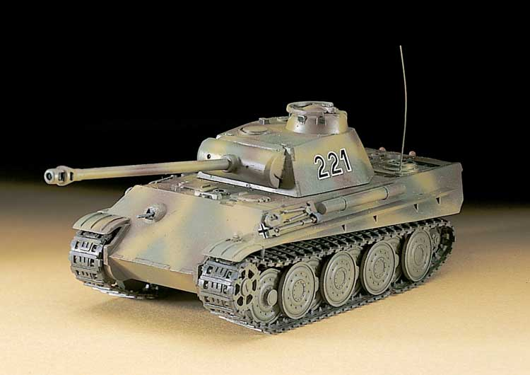 MT 37 PzV PANTHER G STEEL 1/72