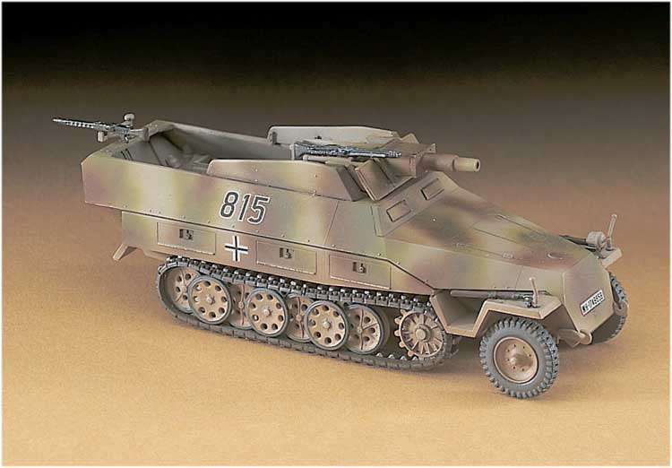 MT46 SD.KFZ 251/9 STUMMEL 1/72
