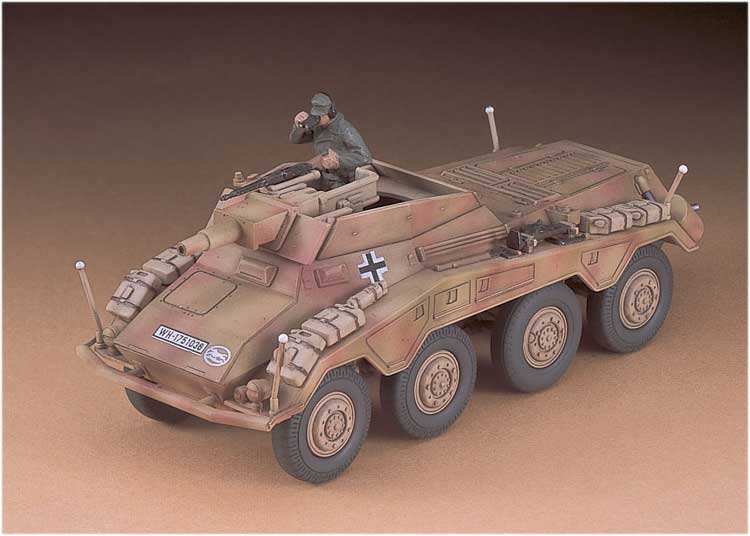 MT54 SD.KFZ. 234/3Stummel 1/72