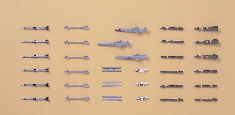 X72-10 MISSILES & LAUNCHER1/72