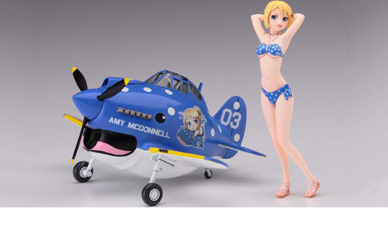 "Egg Girls Collection No.03 ""Amy McDonnell"" w/ P-40"