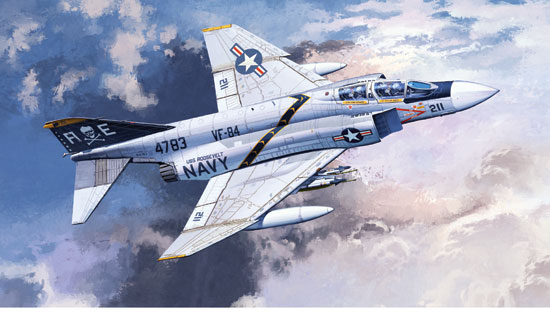 F-4J VF-84 Jolly Rogers 1/48