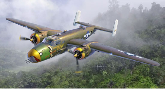USAAF B-25D Pacific Th. 1/48