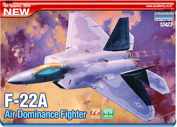 F-22A Air DominanceFighter1/72