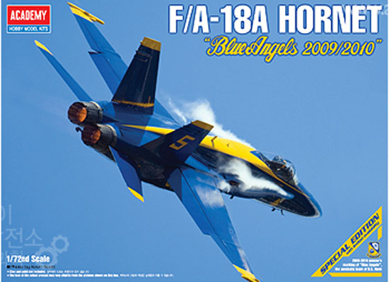FA-18A Hornet Blue Angels 1/72