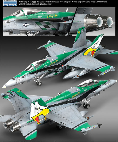 F/A-18C chippy ho! 2009  1/72