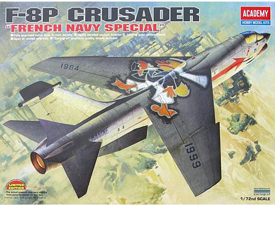 F-8P Crusader French Navy 1/72