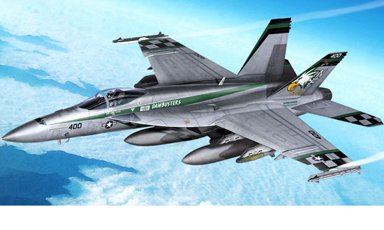USN F/A-18E VFA-195 « Chippy Ho » 1/72