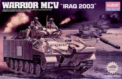 WARRIOR MCV IRAQ 2003    1/35