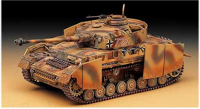 German Panzer IV 1/35