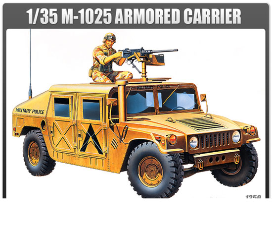 M-1025 ARMORED CARRIER 1/35