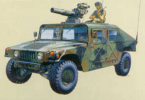 M-996 Hummer + Tow 1/35