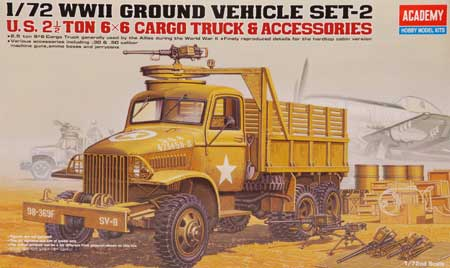 US 2,5 Truck & Acce. 1/72
