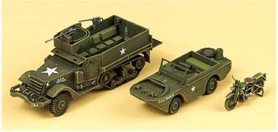 M3 US Halftrack 1/72
