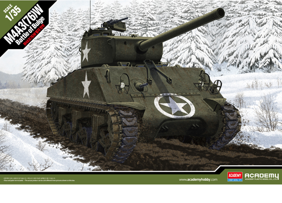 M4A3 Battle of Bulge 1/35