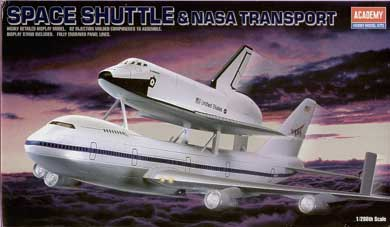 SHUTTLE + 747 CARRIER  1/88