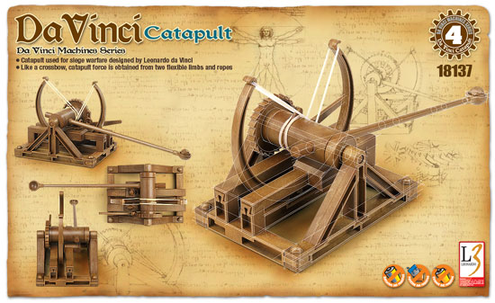 CATAPULTE MACHINE LEONARD DE V