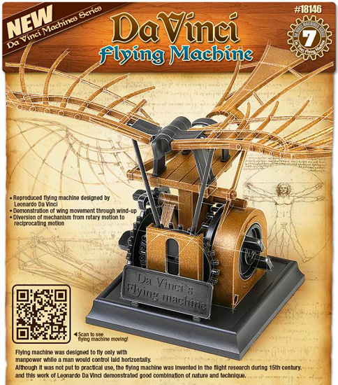 Flying Machine L. D. Vinci