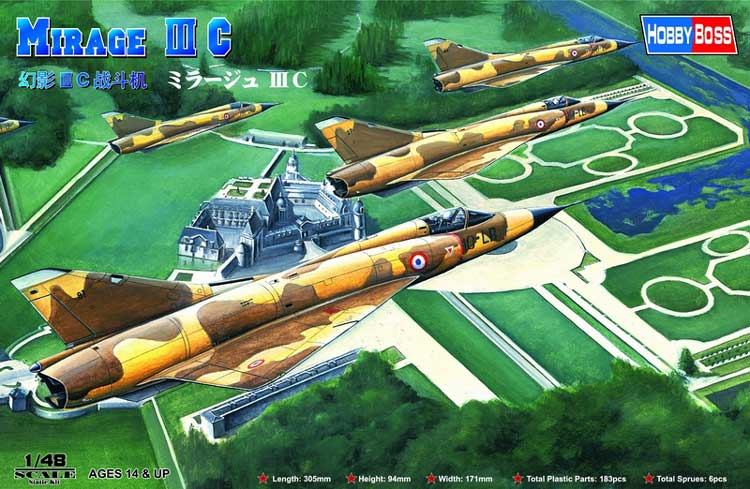 Mirage III C French AF 1/48