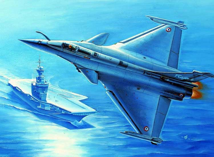 Rafale M French Fighter 1/48