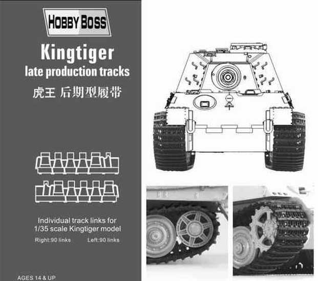 Chenilles Kingtiger late. 1/35