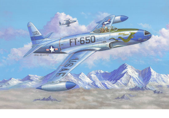 F-80C Shooting Star 1/48