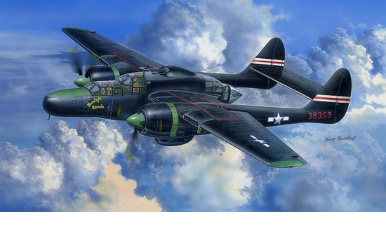 US P-61C Black Widow 1/48