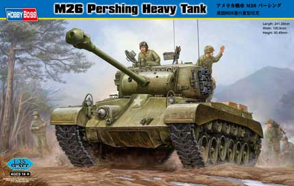 M26 PERSHING HEAVY TANK 1/35