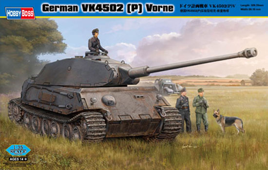 German VK4502 (P) Vorne 1/35