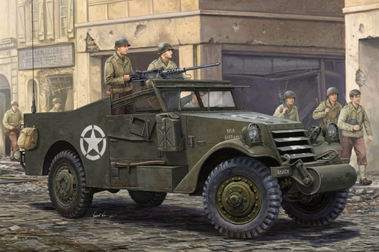 U.S. M3A1 White Scout Car 1/35