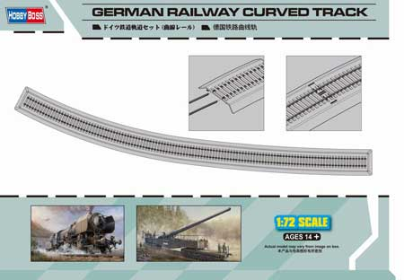 GERMAN RAILWAYS CURVED TRACK