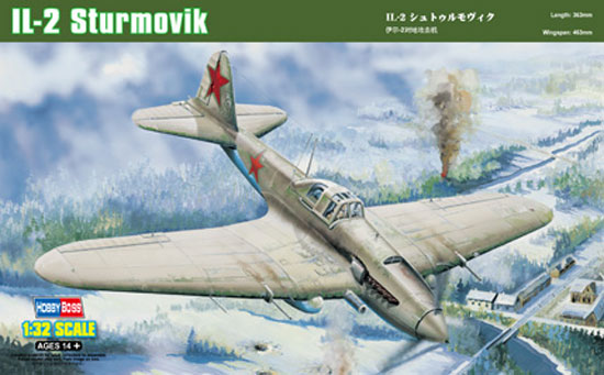 IL-2 STORMOVIK Ground AT. 1/32