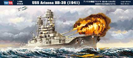 USS ARIZONA BB-39 (1941) 1/700