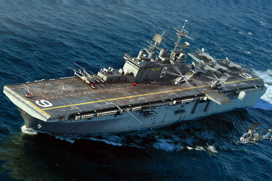 USS Richard LHD-6 1/700
