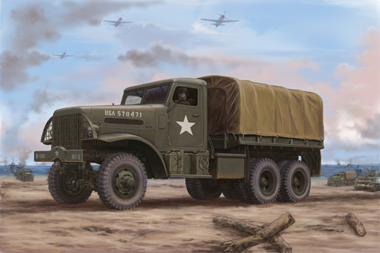 US 666 Cargo Hard Top 1/35