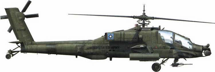 AH-64D Apache Helicoptere 1/72