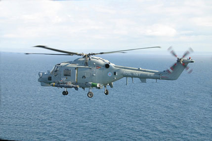 ROYAL NAVY LYNX HMA.8  1/72