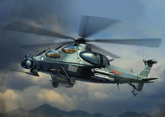 Z-10 Attack Helicopter 1/72