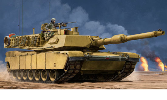 US M1A2 SEP MBT 1/35