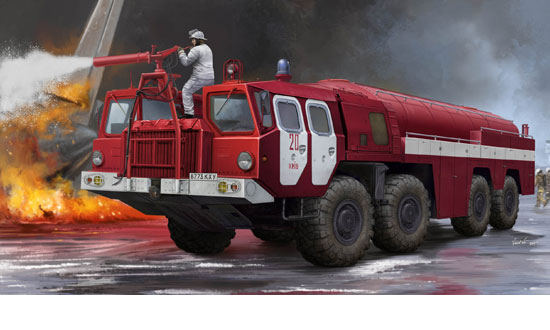 Airport Fire Fighting Vehicle AA-60 (MAZ-7310)1/35