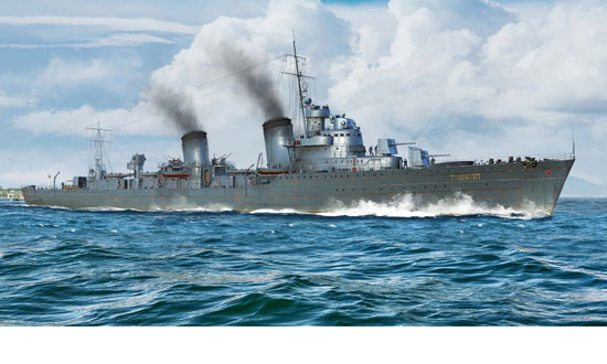 Russian Destroyer Taszkient 1940 1/350