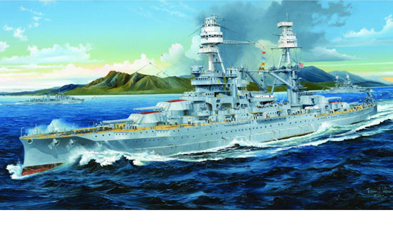 2.4G R/C USS ARIZONA BB-39 1941