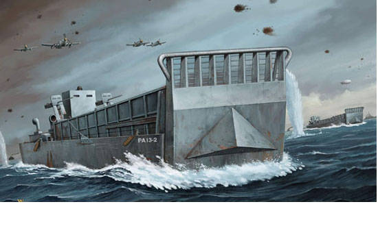 WW2 LCM 3 USN LANDING CRAFT
