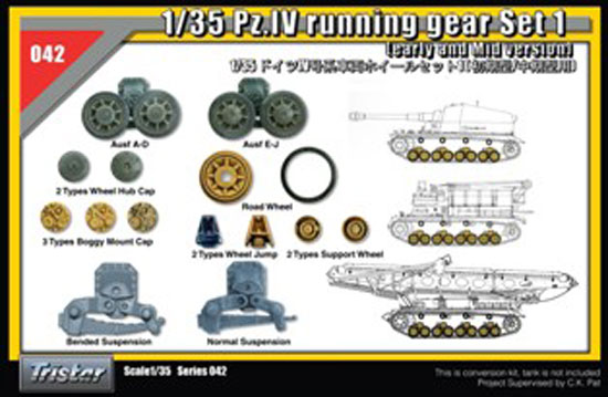 Chenilles Panzer IV 1/35