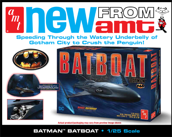 Batman Bat Boat 1/25