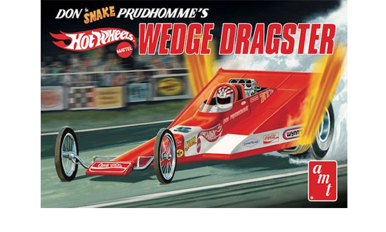 "Coca-Cola Don ""Snake"" Prudhomme Wedge Dragster"
