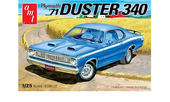 Plymouth Duster 340 '71 1/25