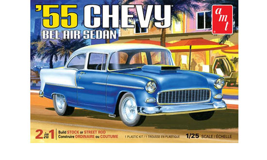 1955 Chevy Bel Air sedan 1/25