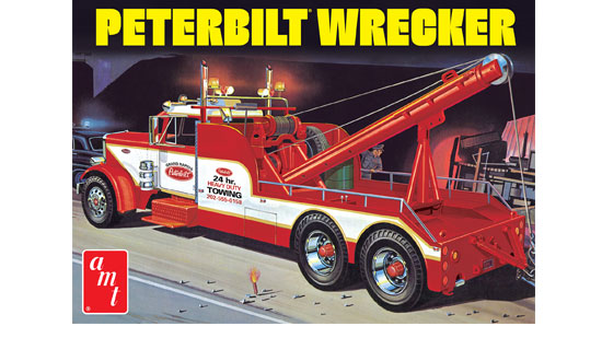 Peterbilt 359 Wrecker 1/25
